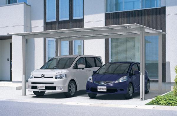 駐車スペース施工例