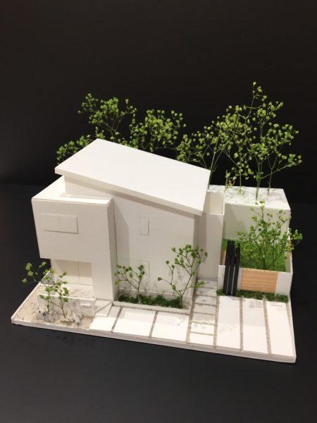 舞鶴市 外構のプレゼン用模型