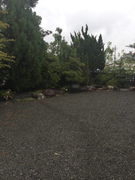 和風のお庭を雑木の庭にリフォーム